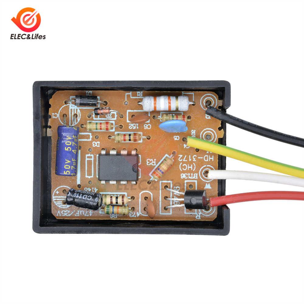 AC 110 V 220 V 1 способ включения/выключения Сенсорное управления для электрического оборудования стол для компьютера лампочки запчасти сенсорный выключатель