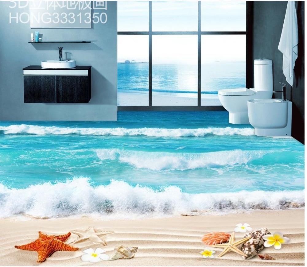 aliexpress : boden tapete 3d für badezimmer strand 3d, Badezimmer ideen