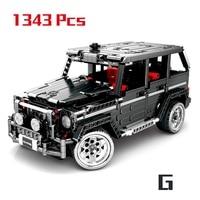 1343Pcs Technic Series Toy Benzes Big G Car Set Building Blocks City Vehicle DIY Bricks Children Toys Boy Gifts