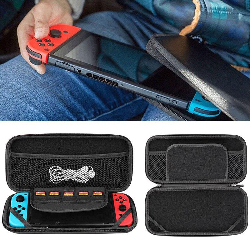 EastVita 4 в 1 Набор аксессуаров для Nintendo Switch чехол сумка+ чехол+ кабель для зарядки+ пленка для экрана из закаленного стекла