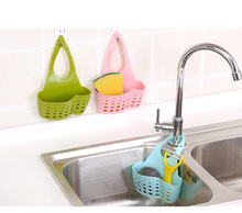 New Kitchen Portable Hanging Drain Bag Drain Shelf Basket Bath Storage Gadget Tools Sink Holder For kitchen Hot Sell #WL099