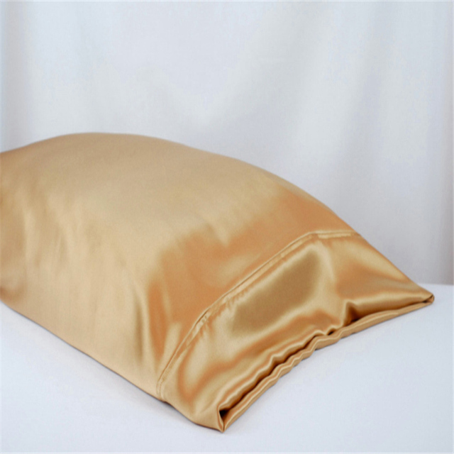 Free shipping 100% mulberry pure silk pillowcase housewife silk pillow case silk pillow cover cover stardend queen king sizes