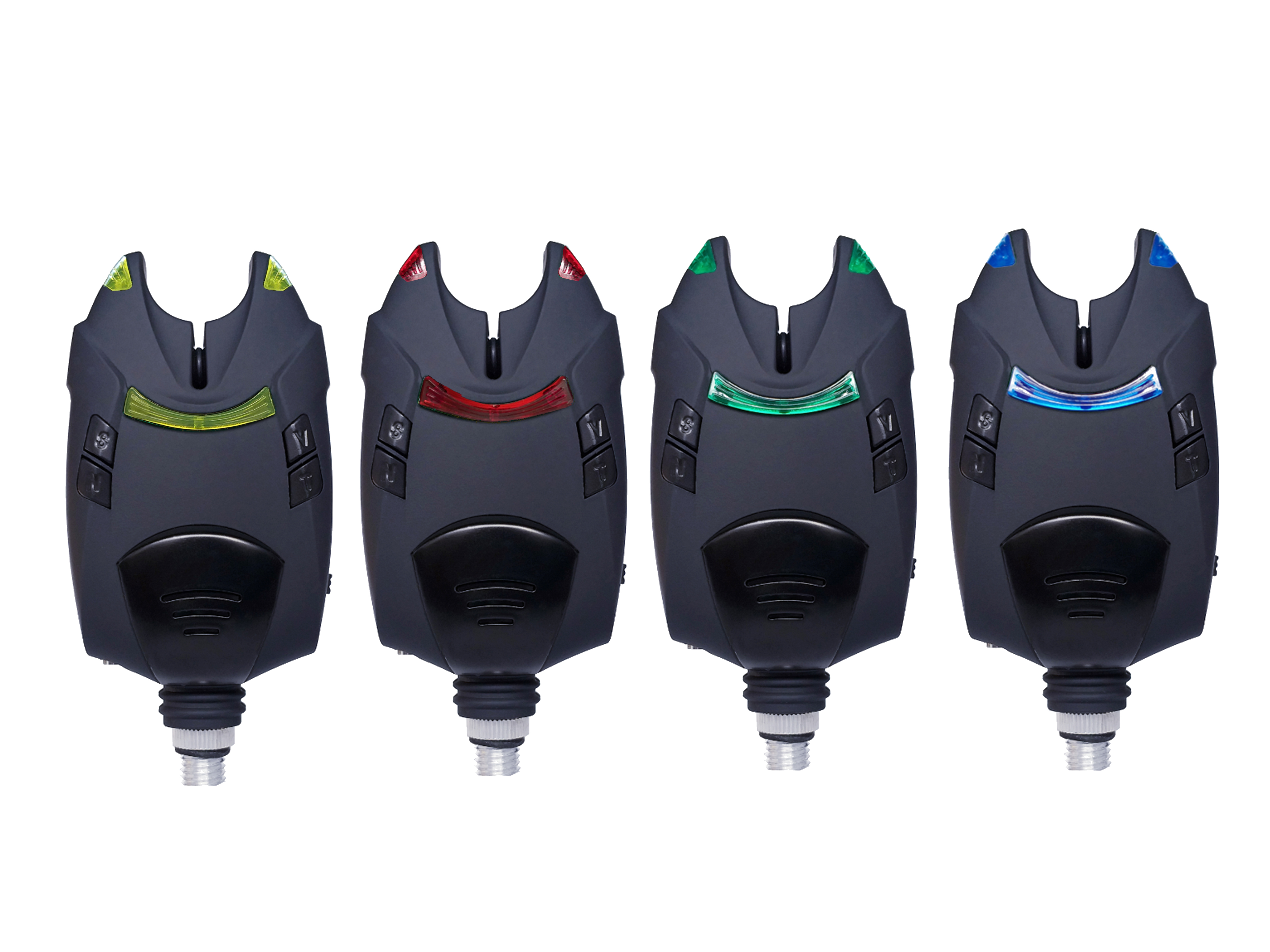 4PCS  Of Induction Alarm Set Automatic High-decibel Fishing Alarm