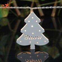 metal tree light winten string lights santa fairy holiday  led light Merry Christmas  light holiday battery powered 3V AA indoor