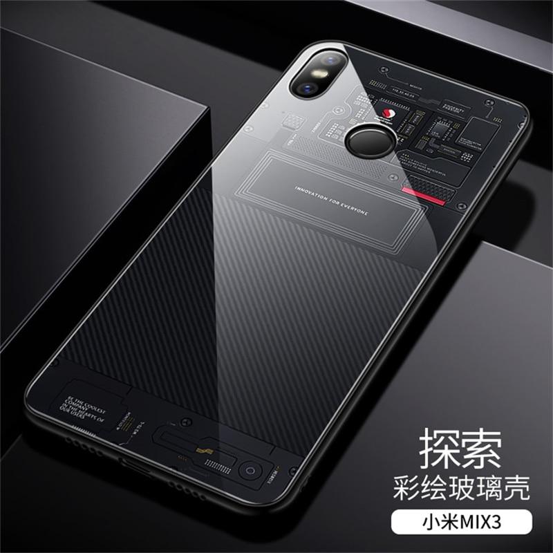 Aixuan Glass Case For Xiaomi Mi Mix 3 (12)
