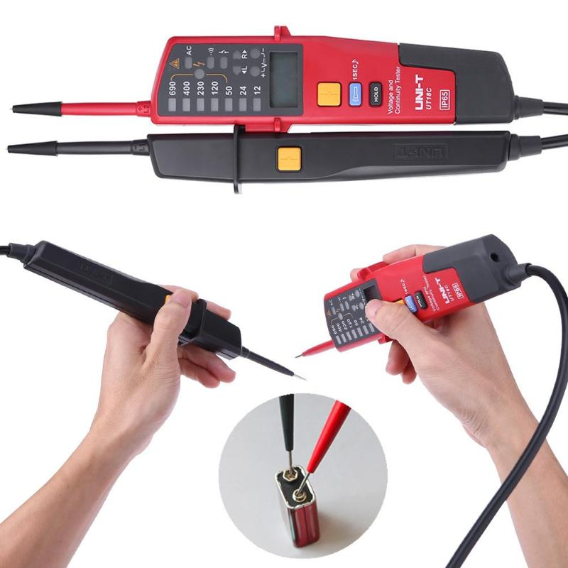 Auto Range Voltage Meter Continuity Test Pencil Tester LED Circuit Detector Electrical Instruments Voltage Meters цена 2017