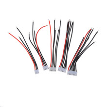 5 шт./лот 2S 3S 4S 5S Lipo кабель для зарядного устройства IMAX B6 Штекерный провод 22AWG 100 мм кабель для балансировки