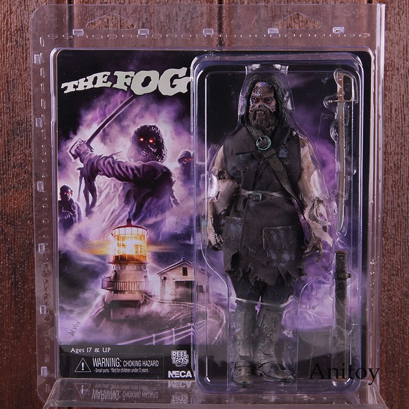 цена на NECA Toys Action Figures The Fog Blake with Light-Up Eyes Horor Dolls PVC Collectible Model Toy