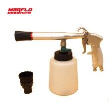 Marflo couro mais limpo tornado arma rolamento tornador ferramentas de lavagem carro alta qulaity tapete limpeza ferramentas