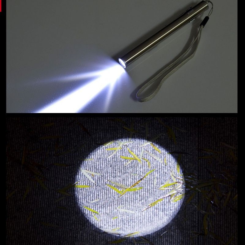 USB wiederaufladbare LED Taschenlampe Leistungsstarke Mini LED Taschenlampe Wasserdicht Tragbare Led Lampe Camping Licht Wasserdichtes Design Stift Hängen