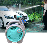 Portable Car Wash Water Gun Scalable High Pressure Water Pipe Multipurpose Garden Flowers Hose Car Clean Tool Water Gun