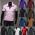 Mens T-shirts de Moda 2016 Da Marca T-shirt Dos Homens Casual T Camisa Homens-manga Curta Camisas de Roupas masculinas Masculino Tshirt