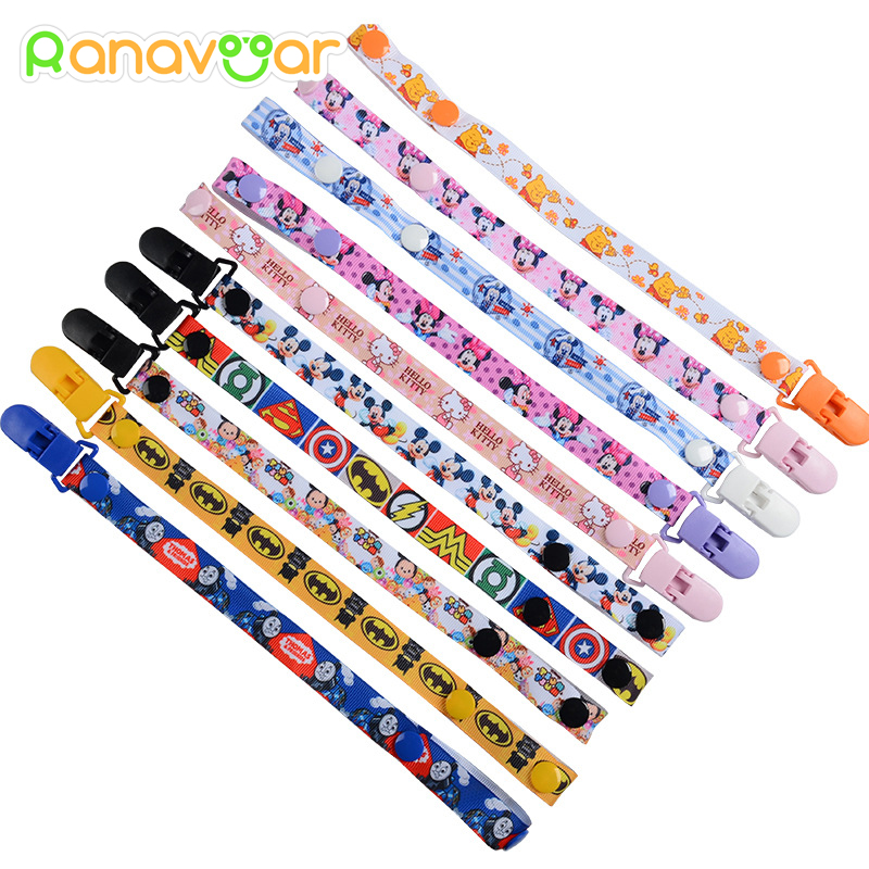 New Baby Pacifier Clip Pacifier Chain Dummy Clip Nipple Holder For Puts Chupetas Para Children Pacifier Clips Soother Holder