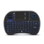 Luz de fondo led i8 pro gaming mini teclado inalámbrico 2.4g touchpad multitáctil retroiluminada ratón aire para ipad/ps3/xbox/caja de la tv