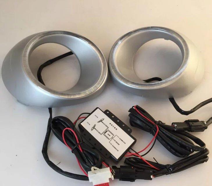 СМК светодиодными фарами дневного света DRL для Мицубиси Аутлендер 2013-14 с функцией переключения, высокое качество