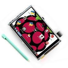 Hot Selling HD 3.5 Inch LCD Touch Screen with Stylus Pen for Raspberry Pi 3 Pi 2 Model B pocket mini arcade game 2 inch hd ips lcd raspberry pi 3 32g card recalbox system it need booking and available in 20 days