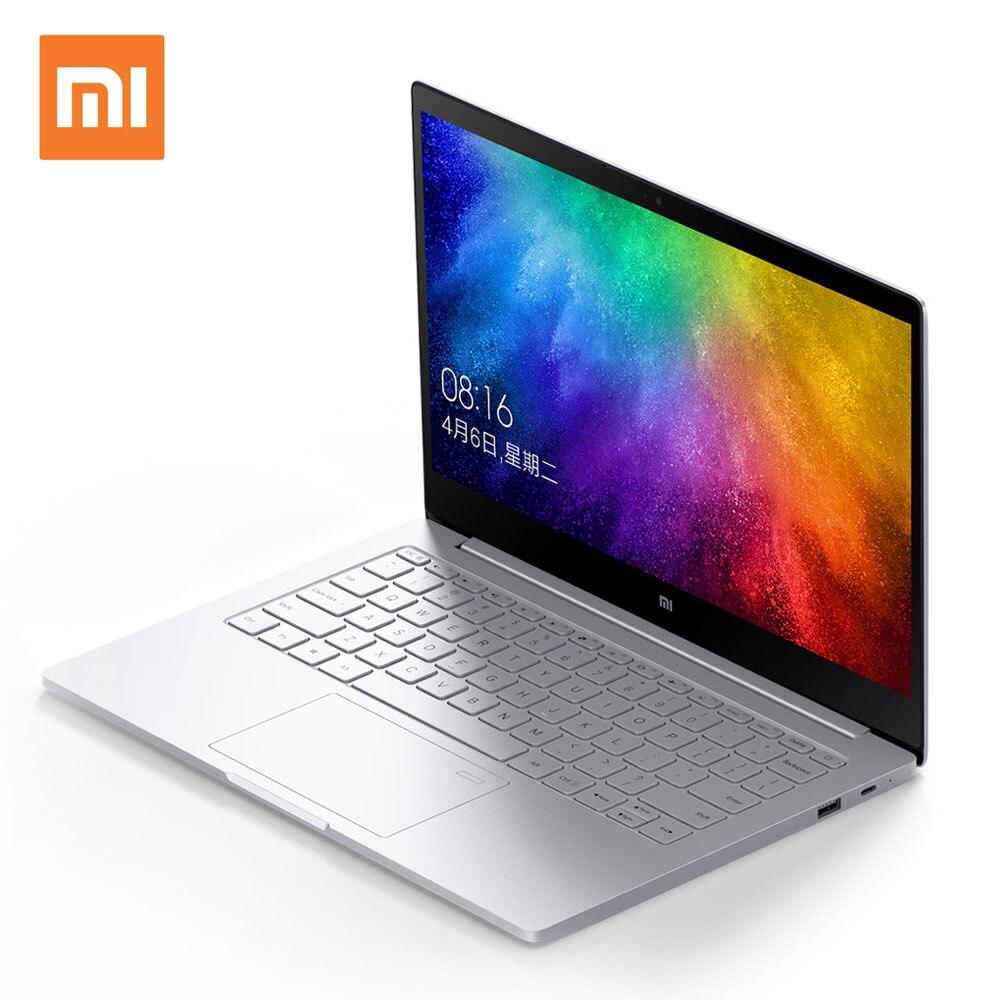 Xiao Mi Тетрадь воздуха ноутбука 13.3 дюймов 8 ГБ 256 ГБ SSD Intel Core i7 Процессор NVIDIA mx150 отпечатков пальцев распознавание Оконные рамы 10