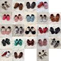 Newborn Baby Soft Sole Leather Shoes Infant Boy Girl Toddler Moccasin 0-24M