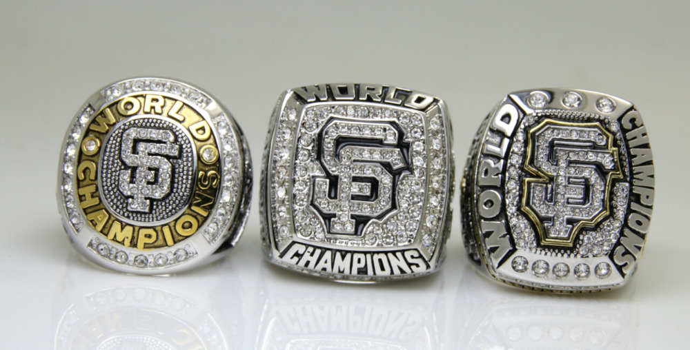 Image result for giants world series rings