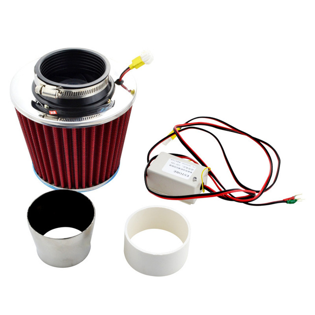 Universal Auto Magic Air Intake Electric Supercharger Filter Kit Turbo Turbocharger