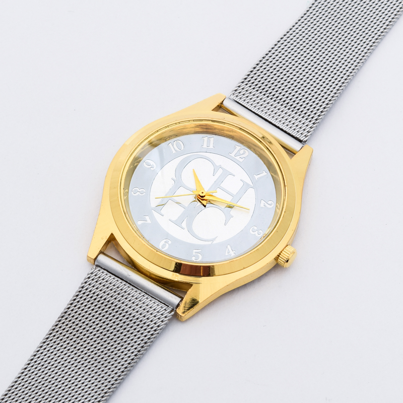 2018 New Brand Gold Silver Casual Quartz Watch Klockor Metal Mesh - Damklockor - Foto 5