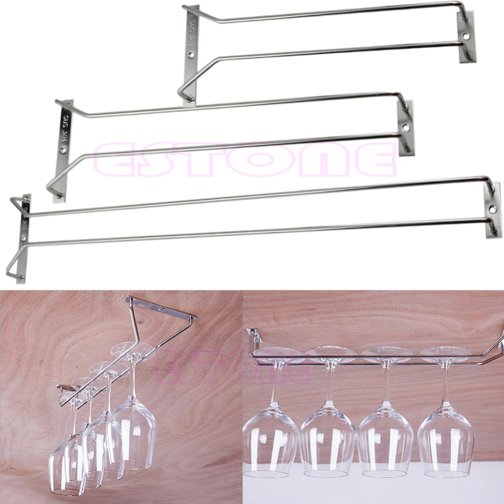 Wine Glass Hangers Under Cabinet Popular Hanging Wine Glass Rack Buy Cheap Hanging Wine Glass Rack