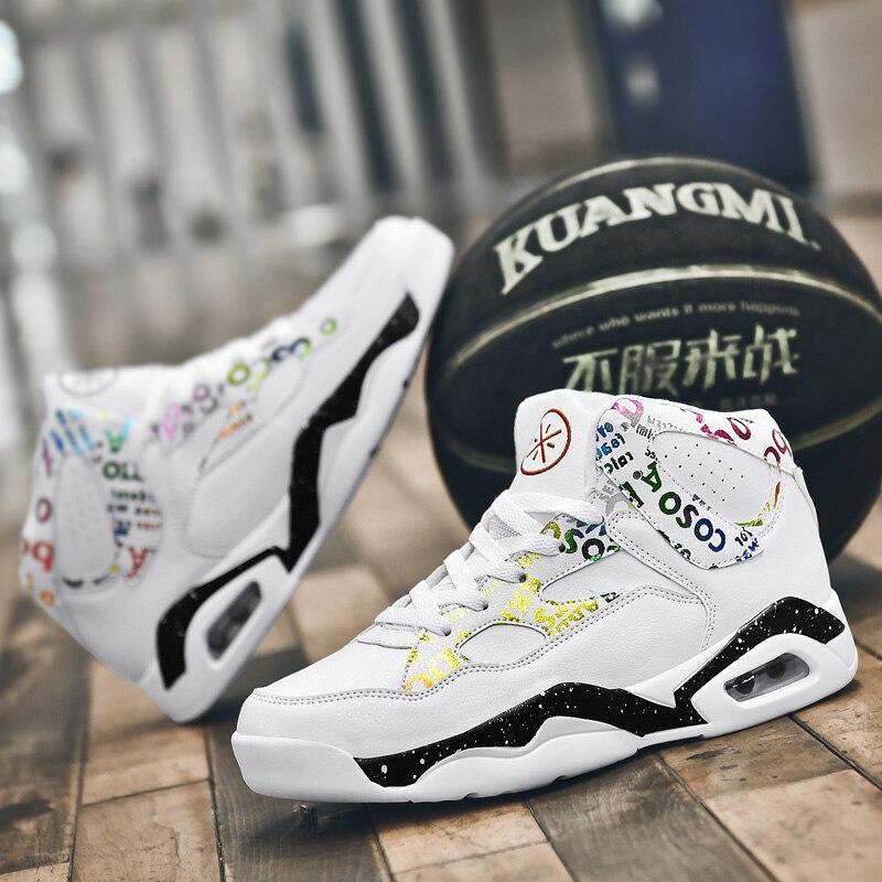 Men Basketball Shoes Outdoor Breathable Cushioning Light Jordan Basketball Sneakers Sapatillas Hombre Anti-slip Sports Shoes Man