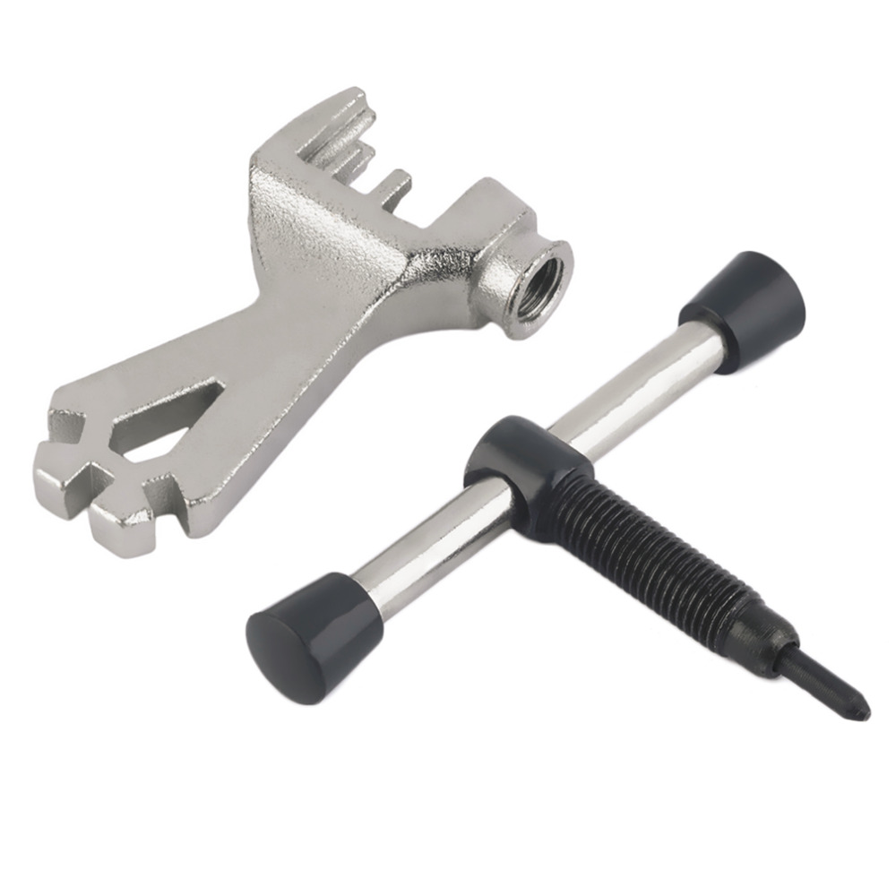 Bike Cycling Bicycle Chain Breaker Splitter Cutter Repair Tool With Spoke Wrench