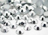 Wholesale Silve Hematite Color Resin Flatback Stone 14 Facets 2MM 3MM 4MM 5MM 6MM DIY Jewellery