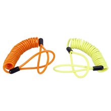 locking spring cable for Alarm Disc Lock
