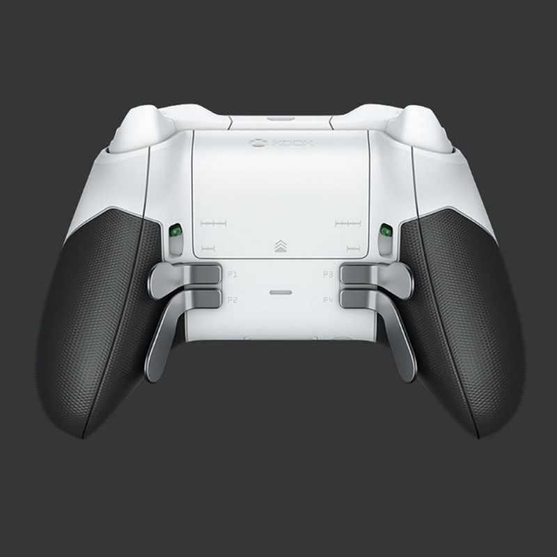 Запасная часть металлический бампер триггер Кнопка весла волосы триггер замки для Xbox One Elite контроллер