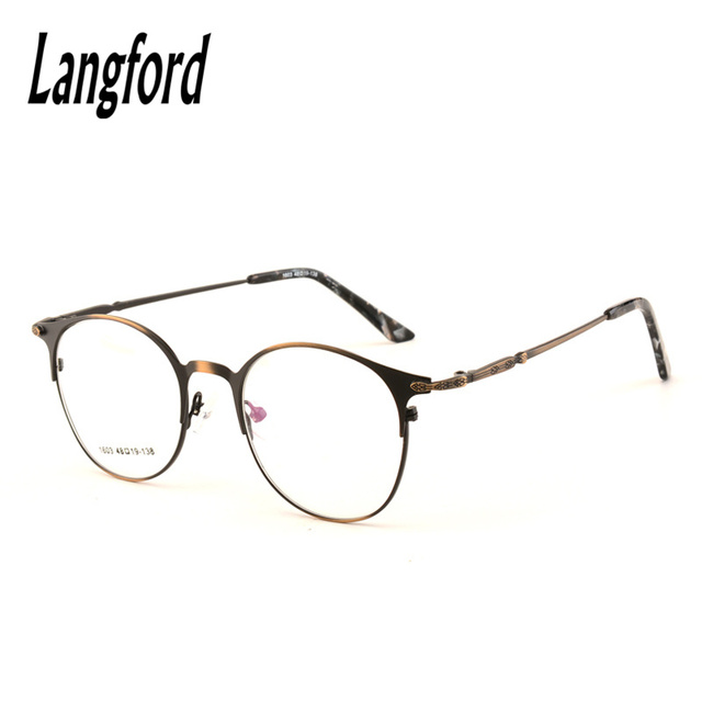 Vintage round eyeglasses frame big full spectacle frame Harry Potter ...
