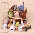 14pcs/set Children girl boy toy Mike Duke tweeted ovo Pets Alone toys Figurine Doll Vinyl doll WJ425