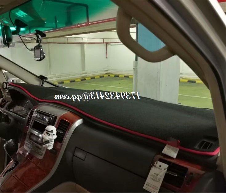 Voiture Dashmats Voiture-style Accessoires de Couverture De Tableau de Bord Tapis pour Toyota Alphard Vellfire 2002 2003 2004 2005 2006 2007 2008