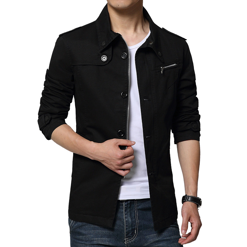 Popular Men Slim Jacket-Buy Cheap Men Slim Jacket lots from China ...