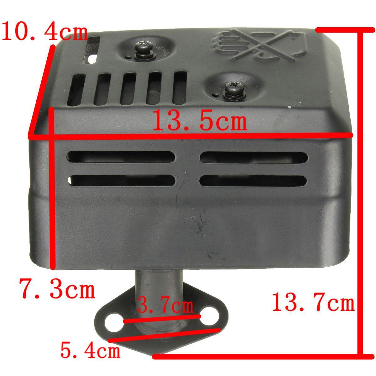 Novo sistema de escape silenciador com escudo