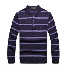 Billionaire italian couture sweaters men's clothing commercial straight 2015 stripe wool Business Embroidery Free shipping