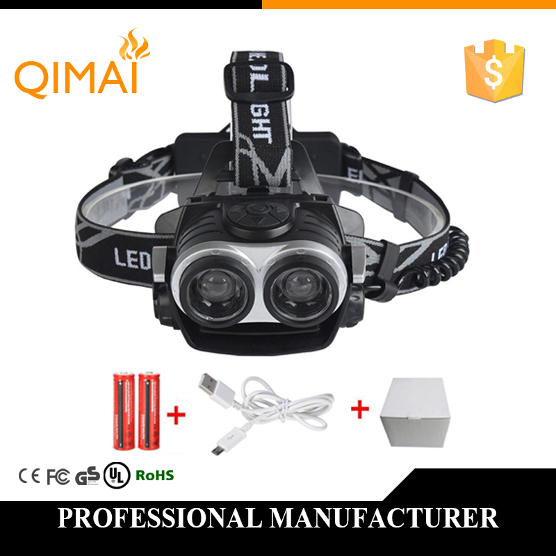 4000LM LED Headlamp CREE XML T6 3 Modes Rechargeable Headlight Head Lamp Spotlight For Hunting Charger