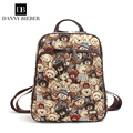 Women Backpack high-quality high-end brand of jacquard canvas bag for young girls before the backpack reported fashion DB6001