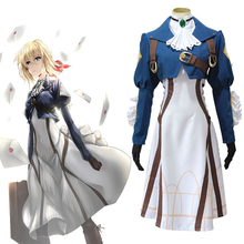 Anime Violet Evergarden Cosplay Costumes Costume Halloween Carnival Party Women Dresses