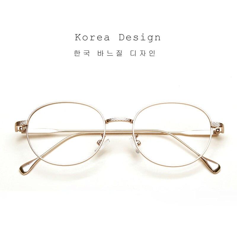 Liyue vintage metal Gafas gafas mujer Marcos hombres oro gafas ...