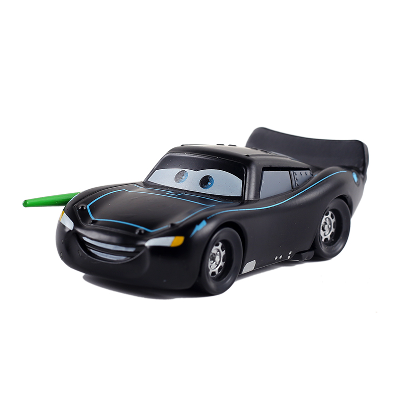 Disney Pixar Cars 3 Cars 2  Lightning McQueen Black Warrior 1:55 Diecast Metal Alloy Toys Birthday For Children Toys