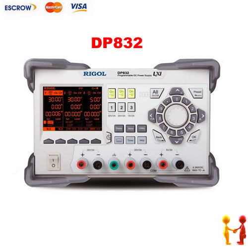 Rigol DP832 Programmable Linear DC Power Supply 3 Channels 4 8 days arrival rigol dp832 programmable linear dc power supply 3 channels