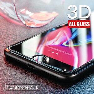 0.22 مللي متر 9 H الزجاج المقسى على ل فون 8 7 6 6 S زائد 5 5 S SE 4 S واقي للشاشة لفون X XR XS ماكس واقية فليم