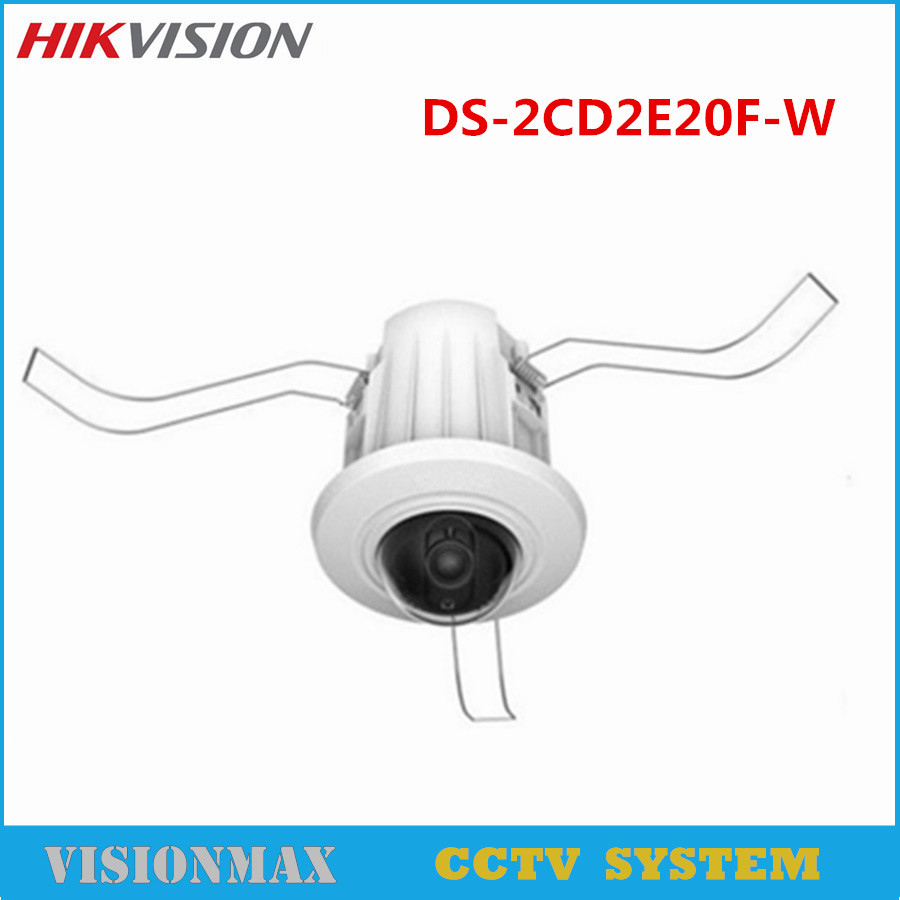 HIKVISION CCTV IP Dome Mini Camera DS-2CD2E20F-W 2MP CMOS HD PoE Wireless Network EZVIZ Wifi PoE ONVIF Multi-language e mu cd rom