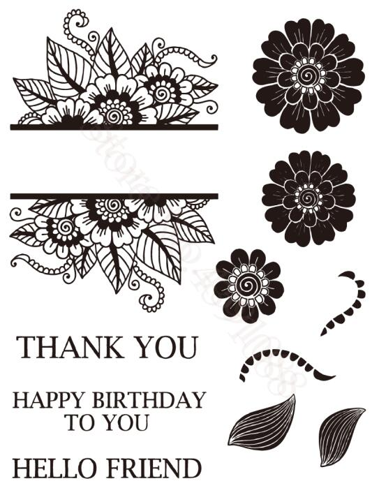 """/""""THANK YOU/"""" Clear Silicone Stamp DIY Scrapbooking Photo album Decor"""
