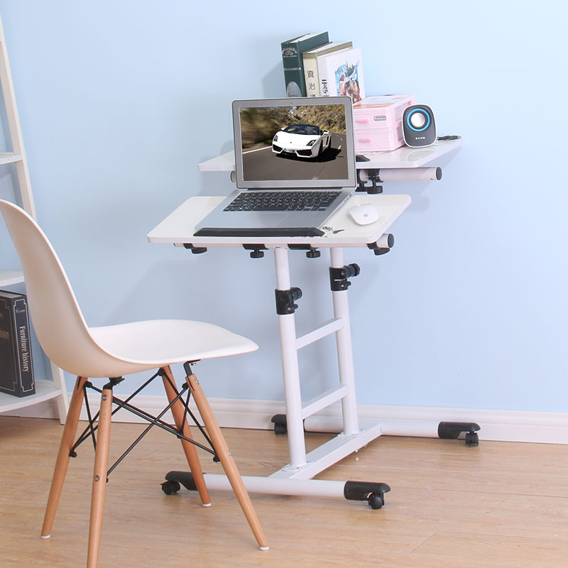 Swap around mobile notebook computer desk. The bedside table. The lazy man computer desk. The lifting table high quality simple notebook computer desk household bed table mobile lifting lazy bedside table office desk free shipping