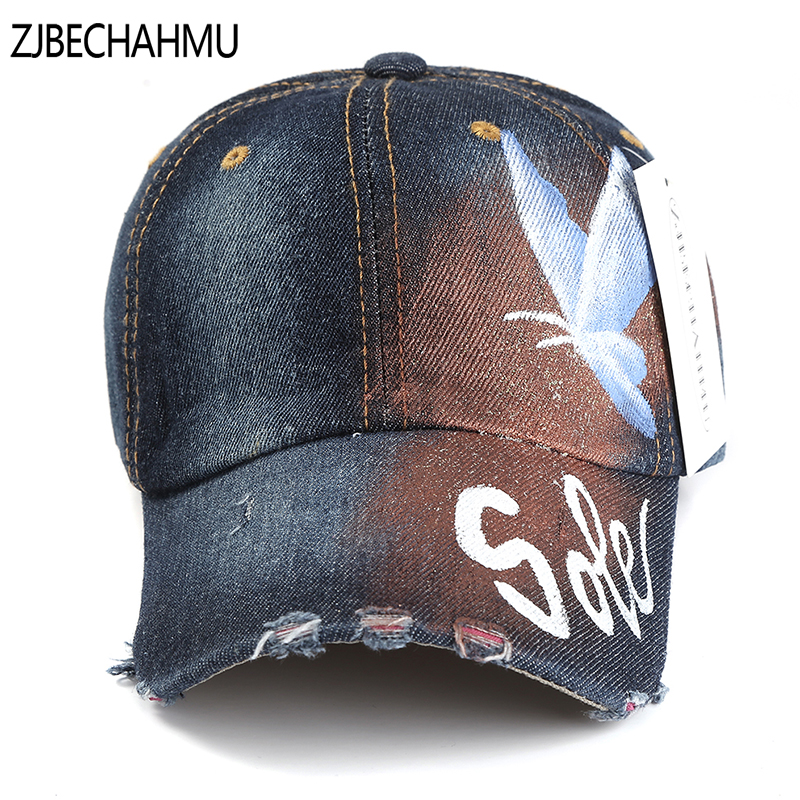 ZJBECHAHMU Hats Casual Denim Animal Solid Adjustable Baseball Caps for Men Women Spring Autumn Summer Hip Hop Snapback Hat 2018 feitong summer baseball cap for men women embroidered mesh hats gorras hombre hats casual hip hop caps dad casquette trucker hat