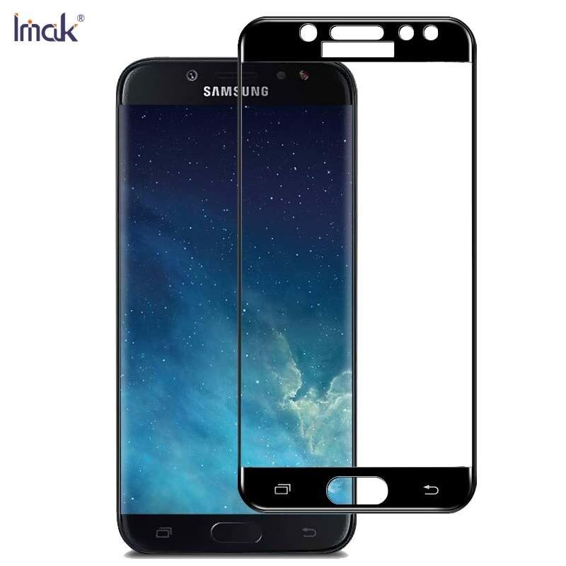 sFor Samsung Galaxy J5 2017 Tempered Glass IMAK Full Cover font b Screen b font font