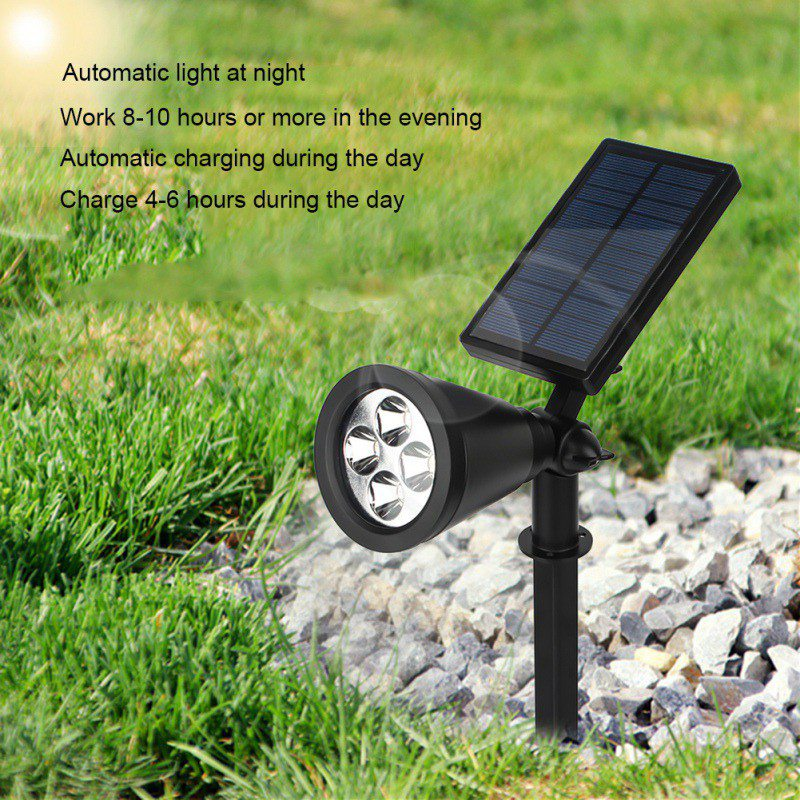 Panel Garden Solar Lamps Solar LED Plant Grow Light Flower Vegetable Indoor Seeds Growing Greenhouse Hydroponics ...